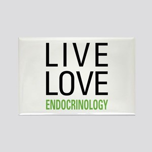 Live Love Endocrinology Rectangle Magnet